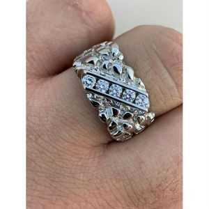 Harlembling Diamond Nugget Pinky Iced Out Ring